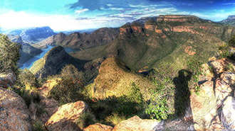 Gods Window Panorama Route in South Africa
