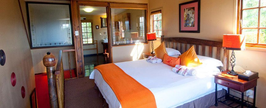 Hog Hollow country lodge bedrooms