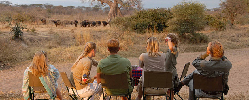 Jongomero game viewing in Tanzania