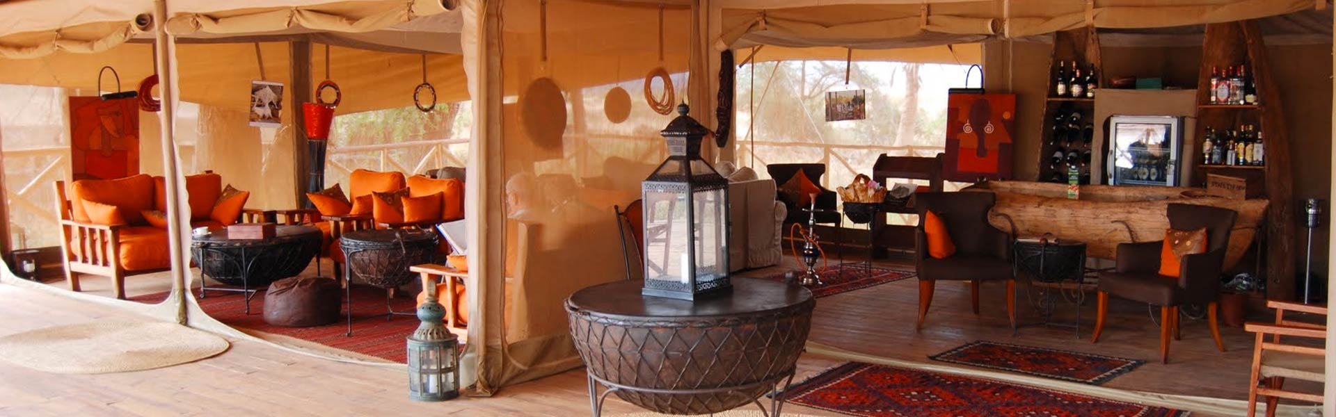 Kenya escapes safari luxury tented lounge