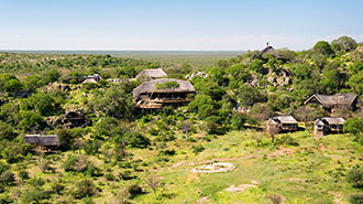Ongava Game Reserve lodge exterior