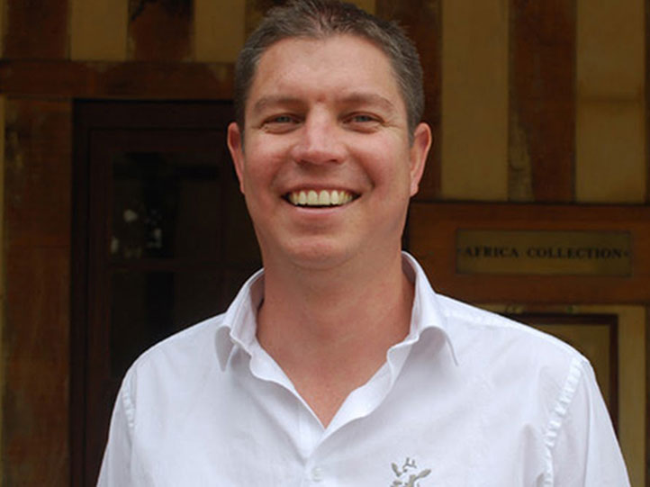 Africa Collection founder and director Chris Fortescue