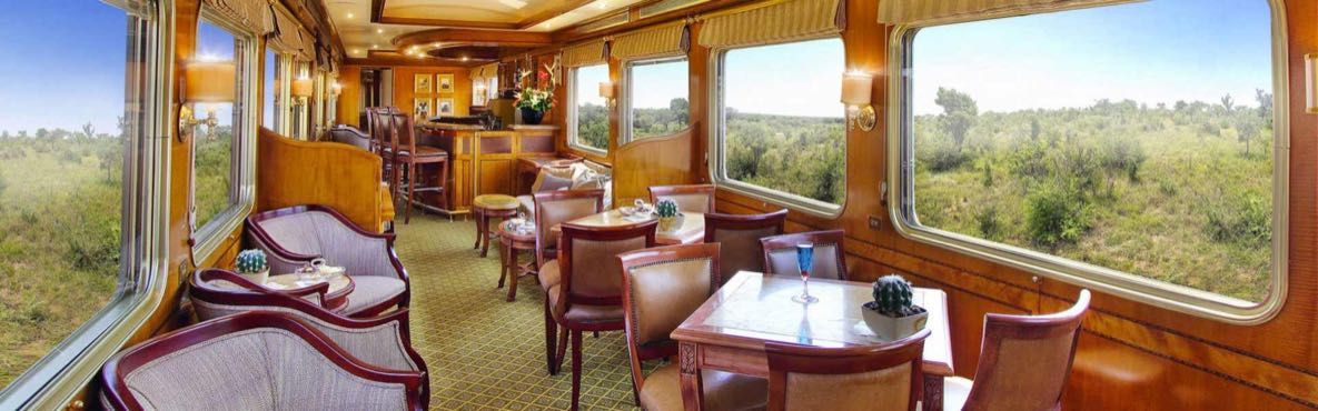 Luxury Rail Holidays and Train Journeys in and around Africa